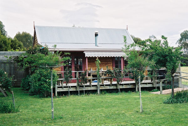 The Old Café Cottage on our Martinborough Vineyard